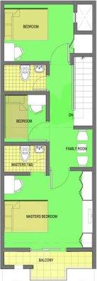 Mendoza Project - Model B Unit - Second Floor Plan