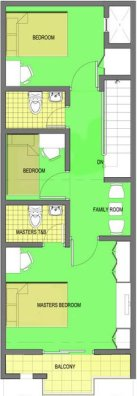 Mendoza Project - Model B Unit - Second Floor Plan