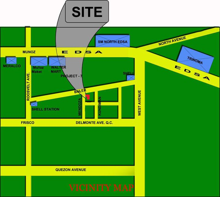 Mendoza Project - Vicinity Map