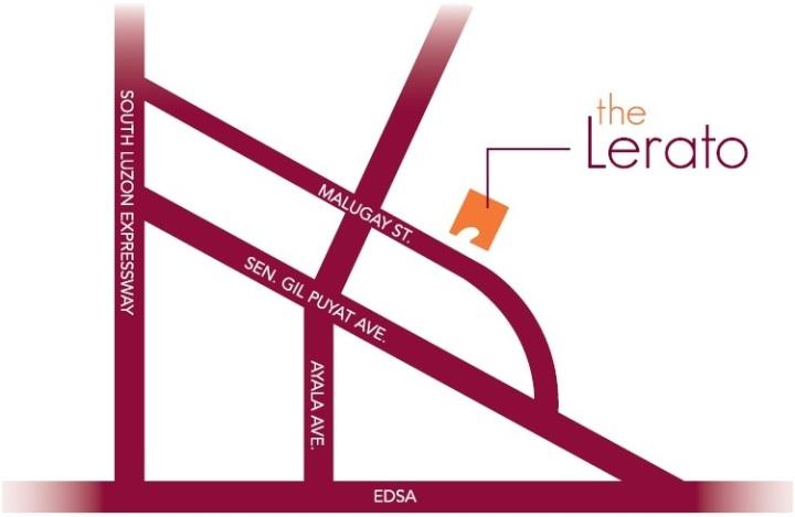 The Lerato Vicinity Map
