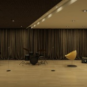Tower 2 Music Room - Artist's Perspective