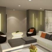 Tower 3 Indoor Lounge - Artist's Perspective