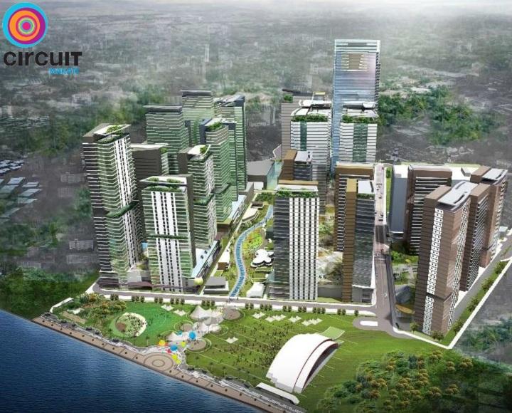 Circuit Makati - Artist's Perspective
