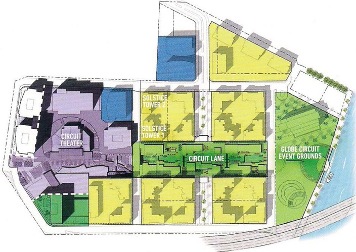 Circuit Makati Site Development Plan