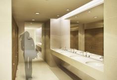 Common Toilets - Artist's Perspective