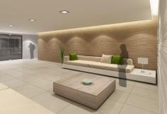 Lounge Area - Artist's Perspective