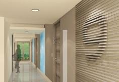 Residential Hallways - Artist's Perspective