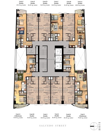 Greenbelt Madison - Typical Floor Plan