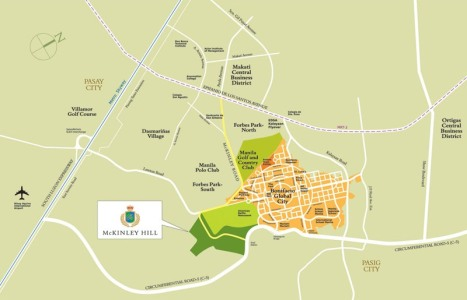 McKinley Hill_Vicinity Map