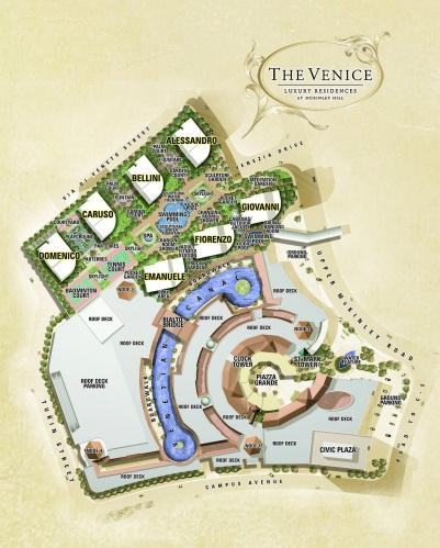 The Venice - Master Plan