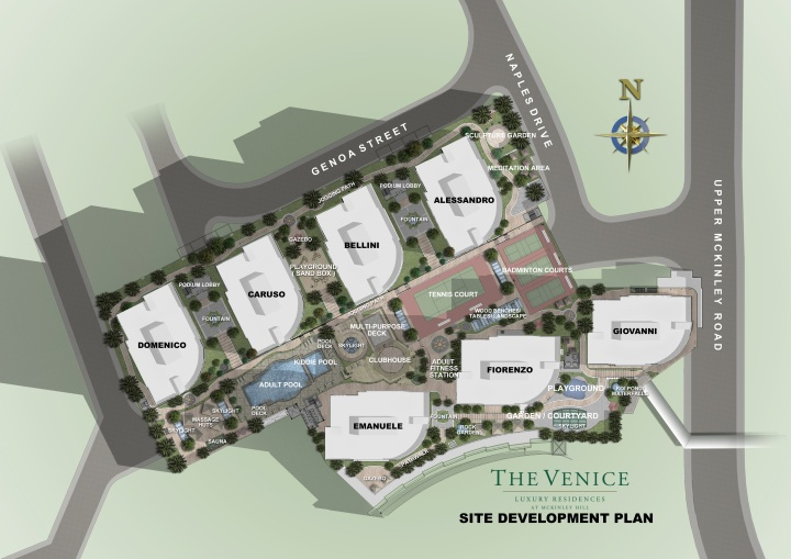 The Venice - Site Development Plan