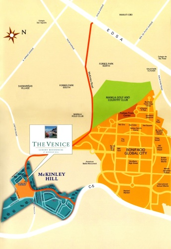 The Venice Vicinity Map