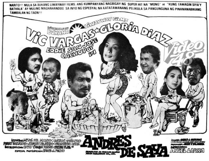 Andres de Saya-80 Vic Vargas-Gloria Diaz